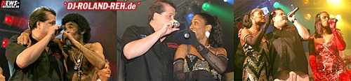 Bobby Farell (Boney M.) und DJ Roland Reh