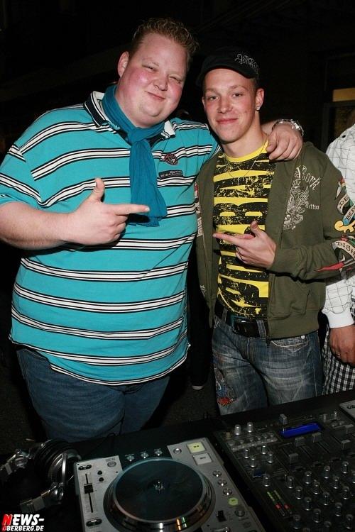 Mike Bierögel (DJ mi-$) und DJ Nr-Gee (B1)