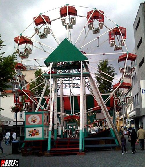 900 Jahr Feier Gummersbach - Fahrgeschäft - Riesenrad
