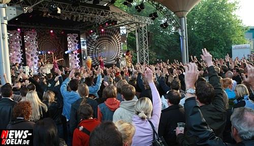 Köln: [Mit Video!] Über 4.000 Leute bei Linus Talentprobe ´Open-Air´Volume #3 (2009 Edition) @Tanzbrunnen – Tagesgewinner Nadine Walter ist beim großen Finale dabei