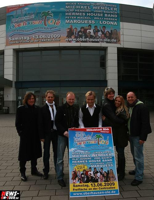 Oberhausen Ole 2009 - Pressekonferenz - Fotocall
