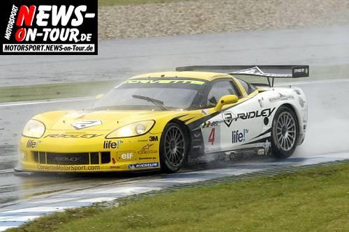 Motorsport.NEWS-on-Tour.de: FIA GT Meisterschaft @Oschersleben. Sieg im Regen für die belgische PK Corvette. Platz 2 und 3 für das deutsche Vitaphone Racing Team! (Teil 1/2)