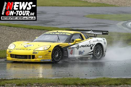 Motorsport.NEWS-on-Tour.de: Mega/Monsterbericht! FIA GT Meisterschaft @Oschersleben. Sieg im Regen für die belgische PK Corvette. Platz 2 und 3 für das deutsche Vitaphone Racing Team! (Teil 2/2) Viel Spass!!