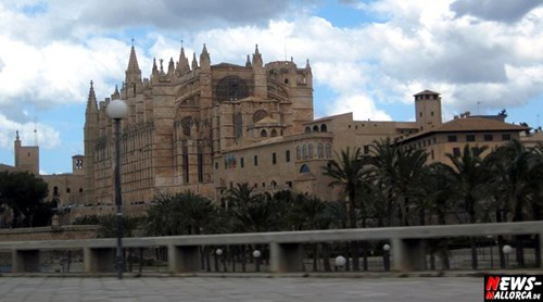 Kathedrale La Seu - Calle Palau Reial - Mallorca - Playa de Palma
