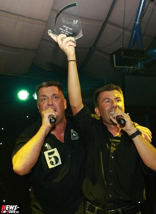 Duisburg: (Update!! Mit 2x Video) ´Ballerman Oskar´ wurde verliehen! ´Ballermann Award 2009´ goes to RTL Autohändler Jörg und Dragan