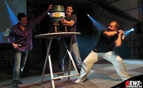 Waldbröler Oktoberfest - Fassanstich mit Willi Herren