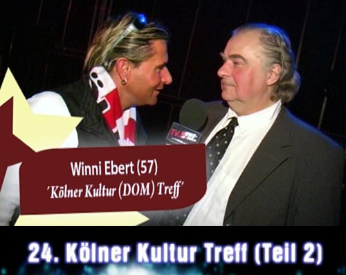 Kölner Kultur Treff - Manni Bel - Winni Ebert