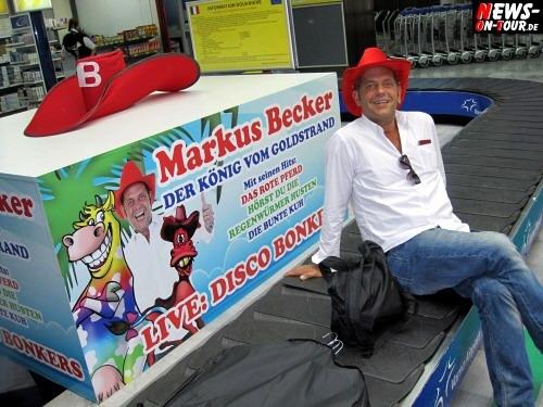 Markus Becker (Das rote Pferd) ist abnehmsüchtig! 32 kg in 8 Monaten. Und es sollen noch 10 kg folgen! Beckers Manager Arthur Riegel ist besorgt um seinen Schützling