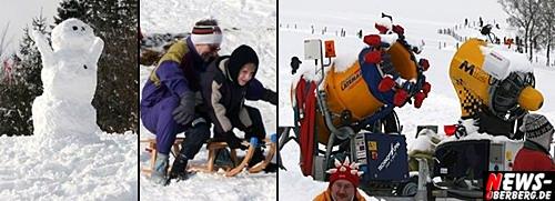 Oberbergischer Kreis (Eckenhagen): Schneeinfos für das kommende Wochenende KW 4 / 2010