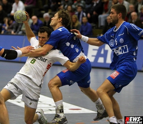 Handball.NEWS-on-Tour.de: Emotionen Pur aber schmeichelhafter Bundesligasieg nach dem Braga Pokal Fight für den VfL Gummersbach gegen die HSG Wetzlar vor 1.479 Zuschauern in der Eugen Haas Sporthalle (66 HQ-Fotos!!)