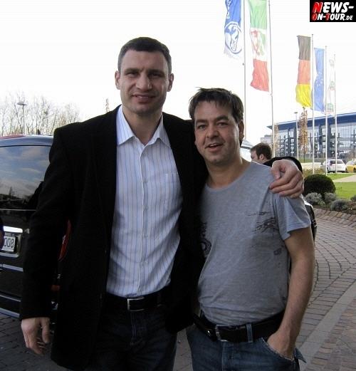 Christian Sasse (aka ´Der Sasse´) und Vitali Klitschko