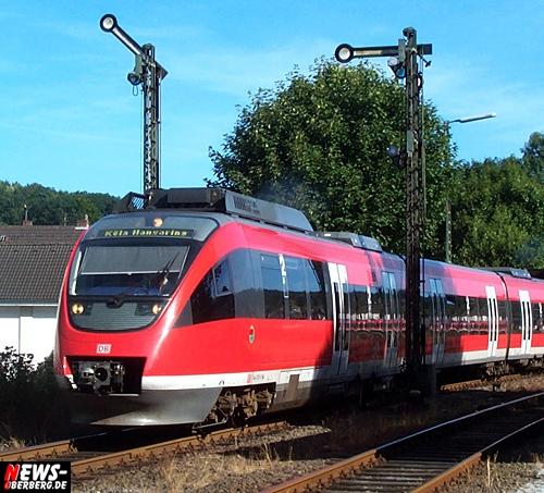Oberbergischer Kreis (Gummersbach): Tot durch Suizid! 24-jähriger sprang vor DB Regio Bahn bei Dieringhausen. Zug Strecke für mehr als Zwei Stunden gesperrt