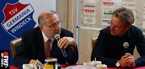 Windeck: 100 Jahre GERMANIA! Pressekonferenz (Video!) mit Wernze und Krampe deckte weitere Details zum großen Jubiläum auf. Bereits 1.800 Karten verkauft. 6.000 Gäste werden an beiden Tagen erwartet