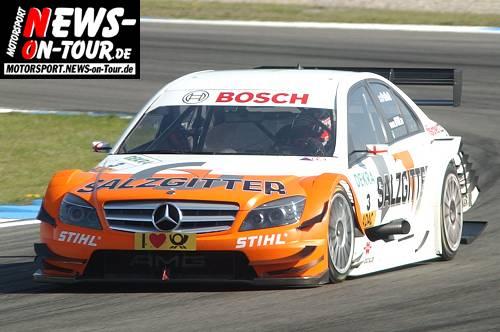 Motorsport.NEWS-on-Tour.de: Gary Paffett siegt im Salzgitter AMG Mercedes beim DTM Saisonauftakt auf dem Hockenheimring und führt Mercedes Benz zum Vierfachsieg