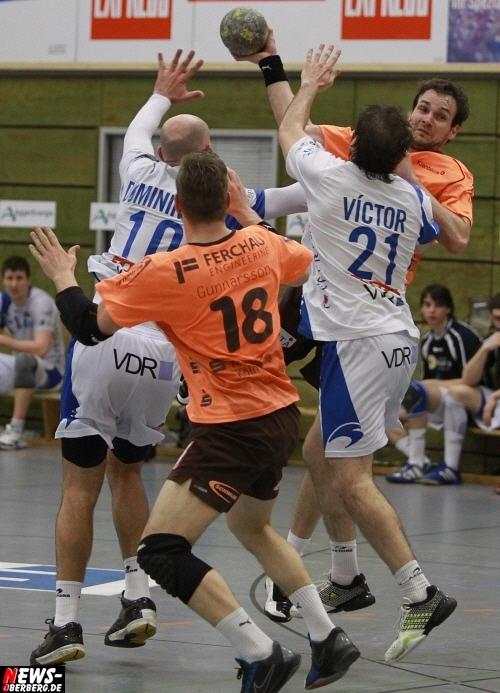 Handball: Unentschieden reicht dem VfL Gummersbach gegen SDC San Antonio zum Einzug ins Finale