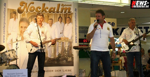 VIDEO UPDATE!! Nockis brachte das ´Wunder der Liebe´ mit nach Gummersbach. Die ZDF-Superhitparaden Gewinner ´Nockalm Quintett´ verwandelten den Bergischen Hof in eine ´Schunkelbude´ und präsentierte Ihre neue CD ´Mein Wunder der Liebe´ @EKZ