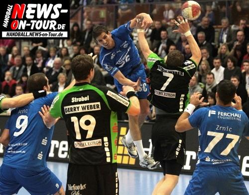 Handball.NEWS-on-Tour.de: VfL Gummersbach ist nicht zu stoppen! Viertes Spiel, vierter Sieg. TBV Lemgo vs. VfL Gummersbach 32:34 (15:18)