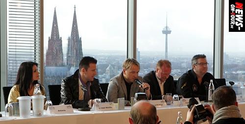 Kölle Ole 2011: UPDATE! Alle Fakten zum Megaevent (4. Juni) am Fühlinger See! Bilder, Infos und Video(s) von der Pressekonferenz aus dem Kölntriangle (RTL DSDS Casting Studio)