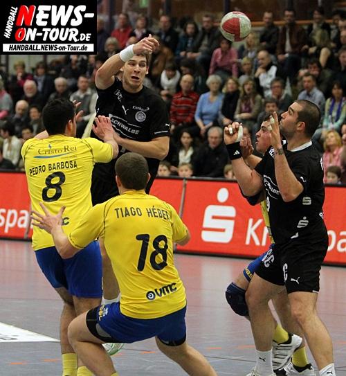 Handball Europapokal: (Final Update: Fast 40 NEUE HQ-Bilder online!) VfL Gummersbach steht nach deutlichem Sieg gegen XICO Andebol (Portugal) im Viertelfinale des Europapokal der Pokalsieger. Exklusives HD-Video vom Trainertalk (Stimmen nach dem Spiel)