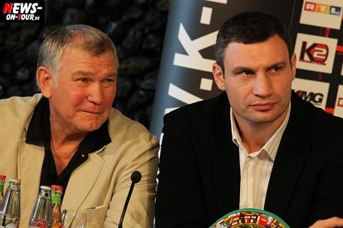 Boxen: Vitali Klitschko und sein Trainer Fritz Sdunek verrieten NEWS-on-Tour, warum sich der 39-Jährige wie 25 fühlt. Spekulationen von einem möglichen Rücktritt vom Tisch