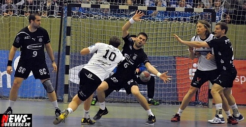 Handball: VfL fertigt Elverum ab! EHF CUP Winners Cup 2010/11 (Viertelfinale) VfL Gummersbach vs. Elverum Handball Herrer 44:25 (23:11)