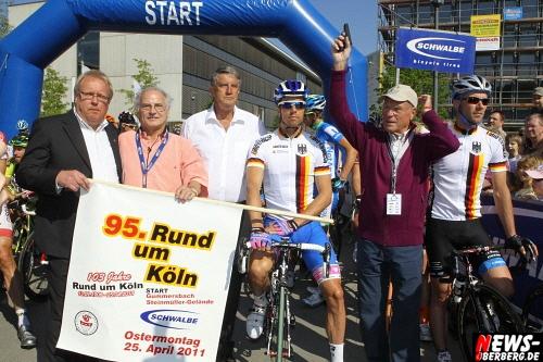 ´Rund um Köln 2011´: Australier Michael Matthews gewinnt Rund um Köln 2011. 95. Auflage glänzte beim Start in Gummersbach mit Sonnenschein aber mit wesentlich weniger Besuchern  als im Vorjahr (Ostermontag 25.05.2011)