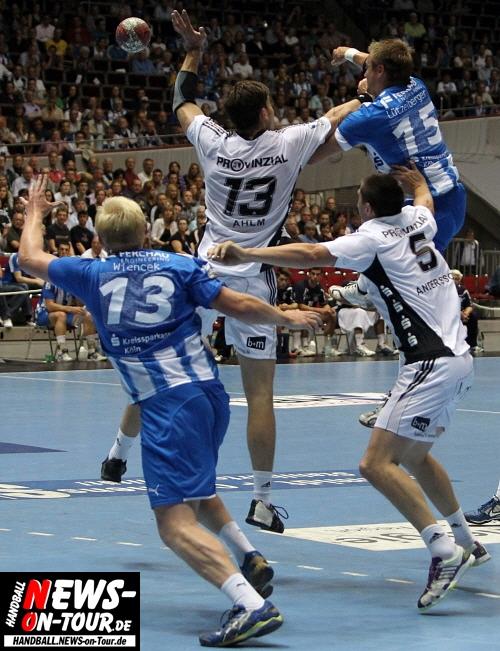 Handball: Update!! THW Kiel gewinnt das Traditionsduell beim VfL Gummersbach in der Dortmunder Westfalenhalle mit 36:33 (18:16). Durch den Sieg direkte Champions-League-Quali für Kiel gesichert