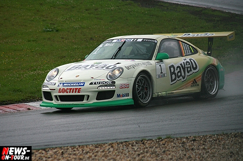 Rene Rast Porsche World Cup 2011