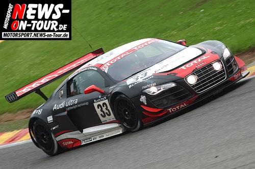 Motorsport.NEWS-on-Tour.de: Total 24 Hours of Spa 2011! Der Sieger heißt Audi, zweiter wird BMW vor Mercedes. Man spricht deutsch auf dem Podium