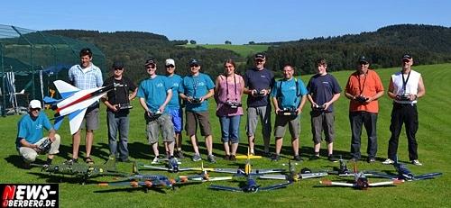 RCWarbird und mpx-Easystar beim 3. Warbird Treffen 2011 in Gummersbach