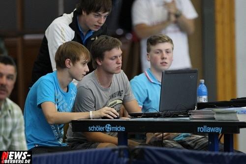 Dennis Nawratek, Fabian Grothe und Erik Rosenberg