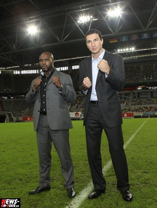 Wladimir Klitschko (35) vs. Jean-Marc Mormeck