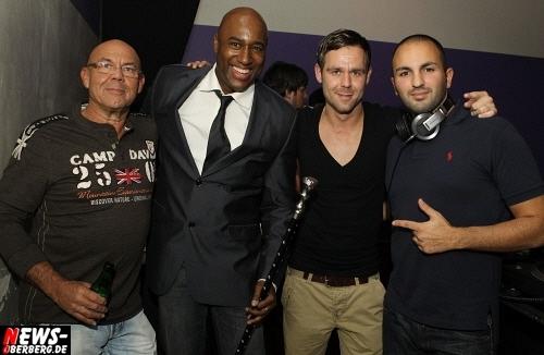 Norbert Bay (DKdance), James Smith, DJ T-Mo (Timo Bay, DKdance und Abik Abgarian (DJ A-Big-One)