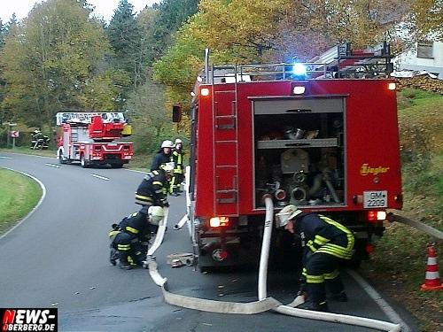 Feuerwehr Löschzug I aus Wiehl und Oberwiehl
