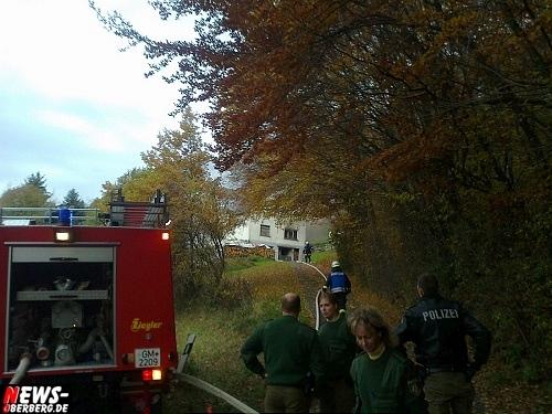 Einsatzkräfte Oberbergischer Kreis Feuerwehr Polizei