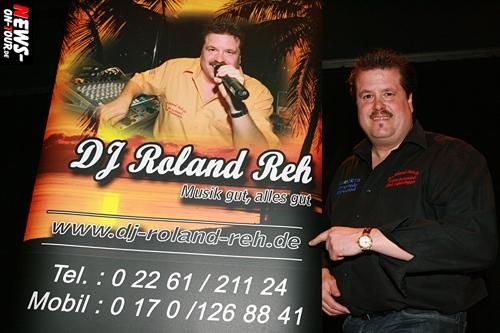 Veranstalter, DJ und Moderator Roland Reh