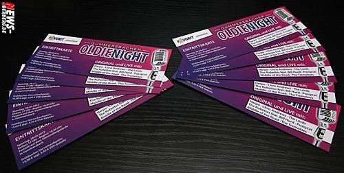 GUMMERSBACHER OLDIENIGHT Tickets Karten Verlosung