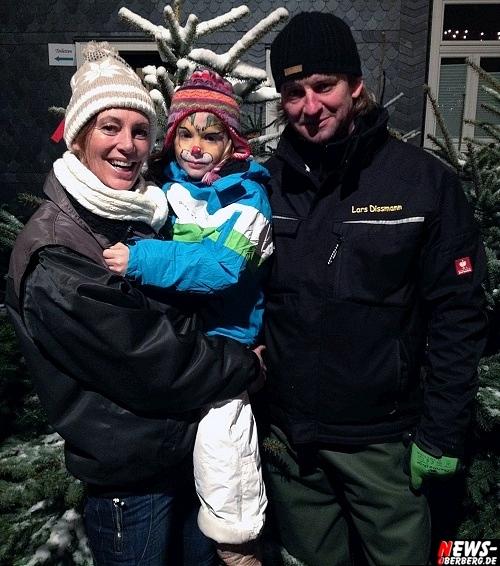 Familie Dissmann (Bettina, Lorena und Lars Dissmann)