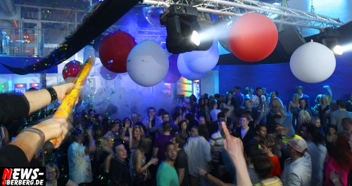 Partyalarm in Oberbergs Danceclub No. 1 zur ´ExtraVaganza´ HOUSE/Electro Party!!
