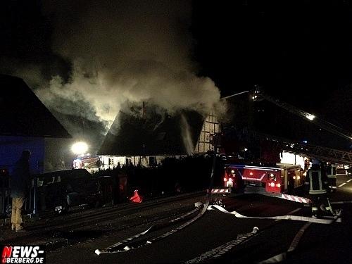 Alarmzeit 17.01.2012 Neuenothe (Bergneustadt, NRW) Zimmer-Dachbrand, Kapellenstraße