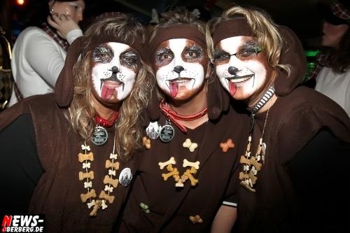 Wuff, Wuff! Hundedamen Hundekostüm Karneval