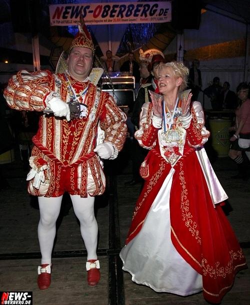 Prinzenpaar der Session 2011 / 2012 des Ründerother Karnevalsverein 1975 e.V.: Prinz: Frank II. (Frank Peterson) und Prinzessin: Angelika (Angelika Ringsdorf)