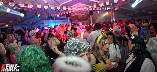 Karnevals Festzelt in Gummersbach