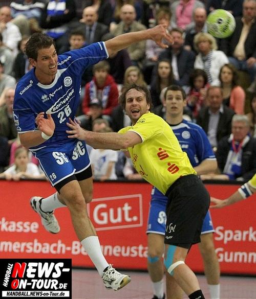 Handball: Schlapper VfL Heimsieg gegen Hildesheim! UPDATE: Fast 50 HQ-Fotos online. TOYOTA Handball-Bundesliga, 26. Spieltag: Gummersbach schlägt  Tabellenletzten auf Sparflamme. VfL aber wieder im Tabellenmittelfeld angekommen