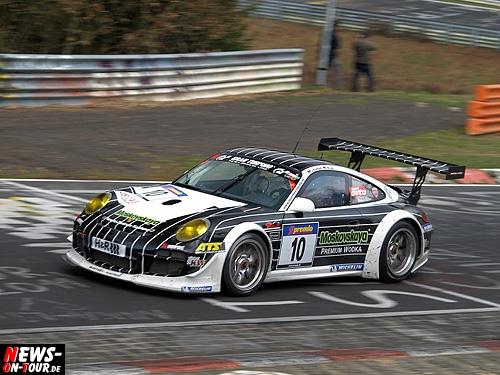 Nürburgring Nordschleife: Manthey auch im dritten VLN Lauf (54. ADAC ACAS H&R-Cup) erneut als Sieger auf dem Treppchen