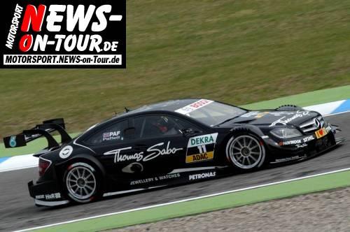 DTM/Hockenheim: Sieg für Gary Paffett auf Mercedes! BMW ist vom Speed her dabei, der Dreikampf hat begonnen! Neuer Zuschauerrekord für einen Saisonauftakt