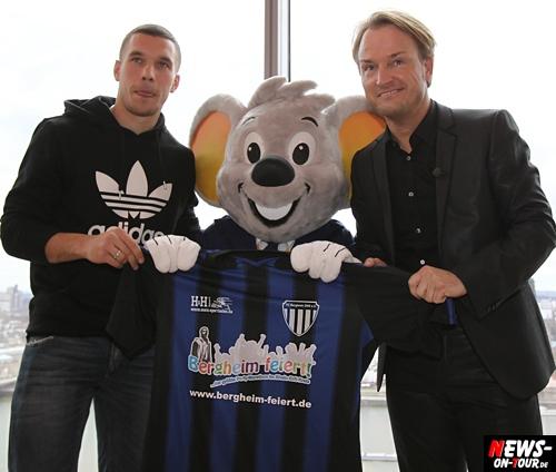 Lukas Podolski - Markus Krampe (Bergheim feiert)