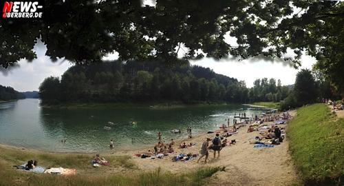 Sommer, Sonne, Badespaß an den Talsperren! Baderegeln je nach Ort unterschiedlich. Hunde nicht überall erwünscht! Badegäste an Agger-, Brucher-, Lingese-, Bever- und Wupper-Talsperre werden gebeten, die Regeln zu beachten