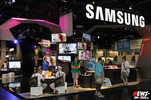 Samsung auf der ´gamescom 2012´. Smarter spielen Perfektes Teamplay zwischen Galaxy Tablets, Smart TVs und innovativen Displays