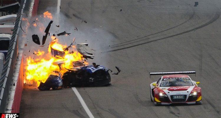 Hockenheim: Schwerer Unfall überschattete ADAC GT Masters 2013. Sieg für Lambda Performance! Keine Entscheidung im Titelrennen